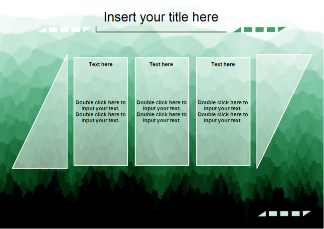 Forest Background PowerPoint