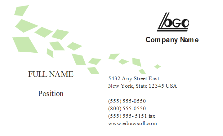 General Business Card Template