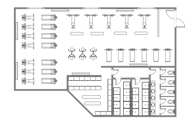 Gym Design Floor Plan