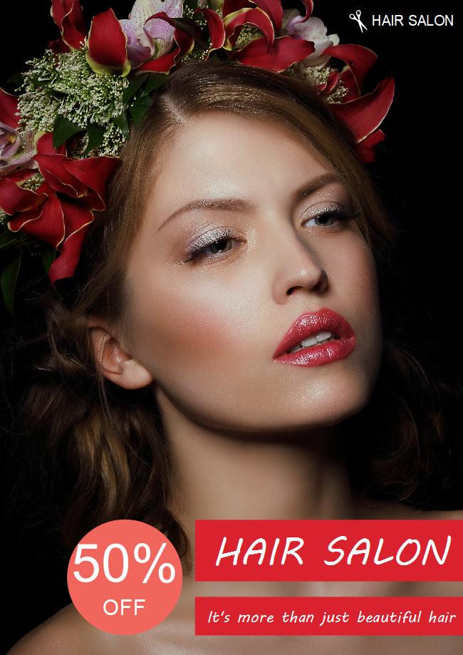 Hair Salon Flyer Free Hair Salon Flyer Templates