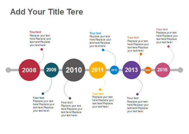 free timeline templates easy to edit