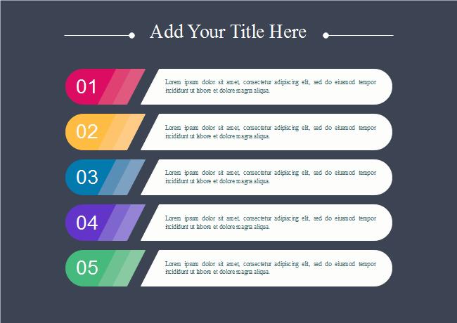 Horizontal List Presentation