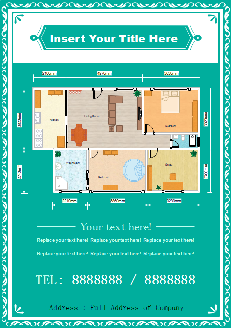 House Plan Flyer