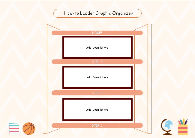 How To Ladder Graphic Organizer
