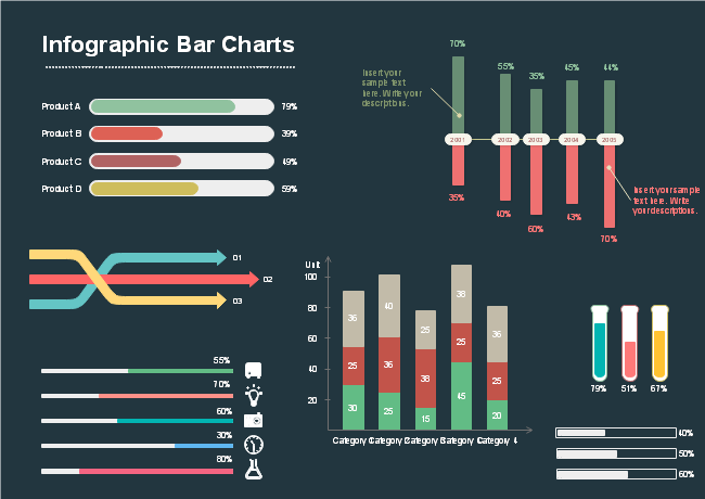 Infographic Bar Charts
