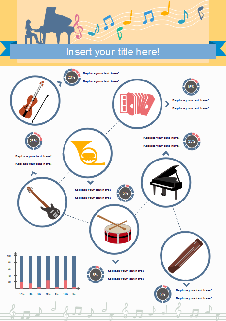 Instrument Introduction Infographics Free Instrument