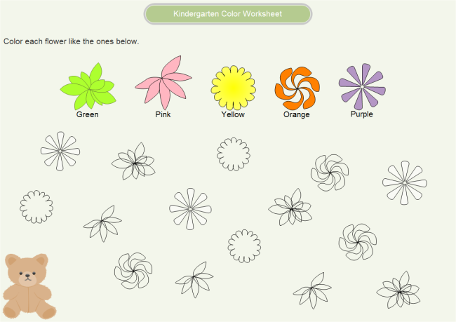 Kindergarten Worksheets – Worksheet Kindergarten