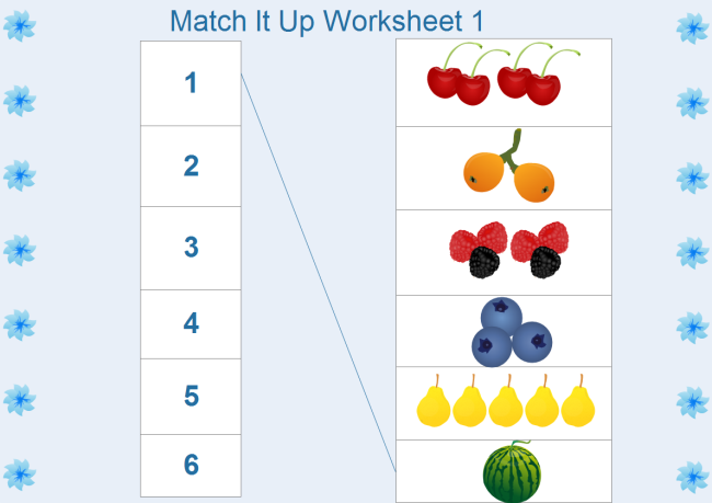 Kindergarten Math Worksheet – Worksheet Math for Kindergarten