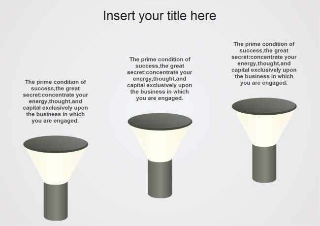Lamps PowerPoint