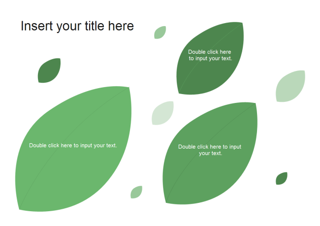 Leaves PPT Template