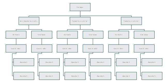 Logistics Organization Structure - General Type