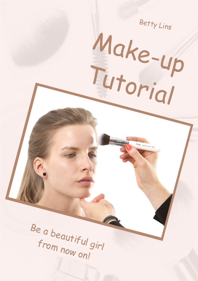 Make Up Book Cover