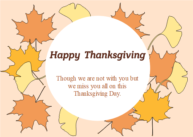 maple leaves thanksgiving card free maple leaves thanksgiving card