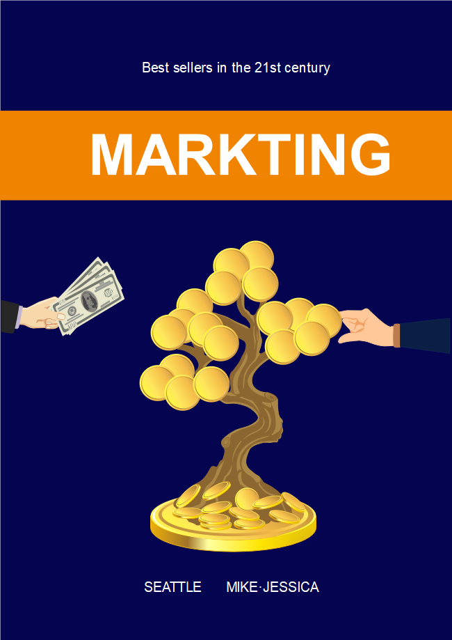 Marketing Business Book Cover
