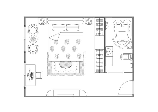 Master Suite Plan