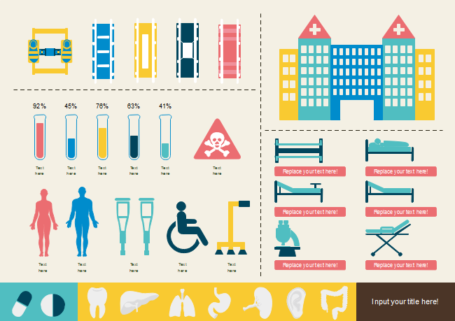 Medical Equipment Infographic Template