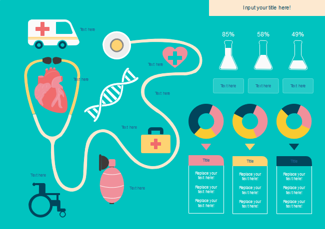 Medical Technology Infographics Template