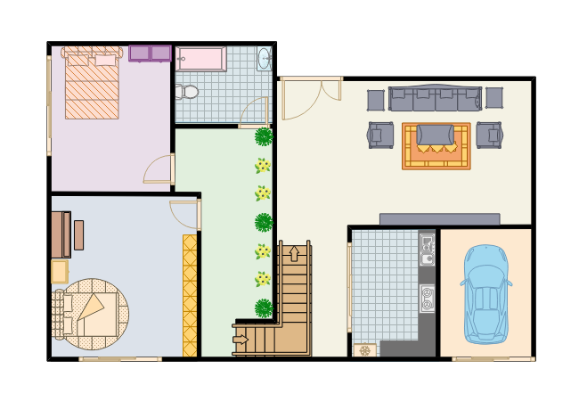 Mini Duplex Apartment Plan