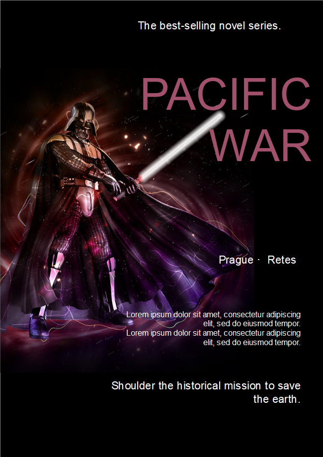 Pacific War Fiction Book Cover