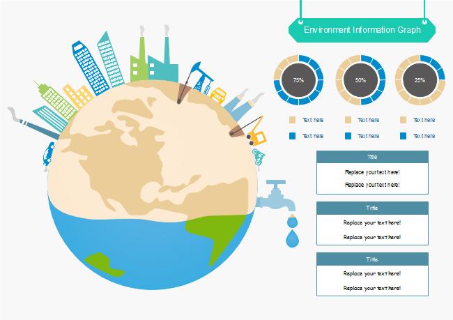 地球保護 インフォグラフィック