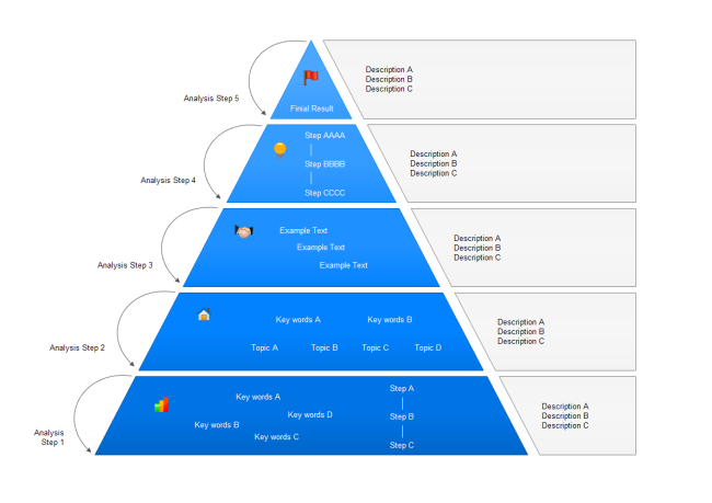 Pyramid Diagram Free Templates