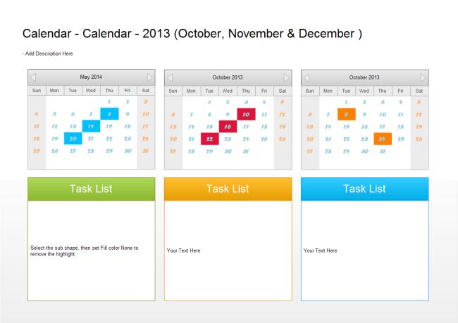 Quarterly Calendar Templates 2016 Calendar Template 2016