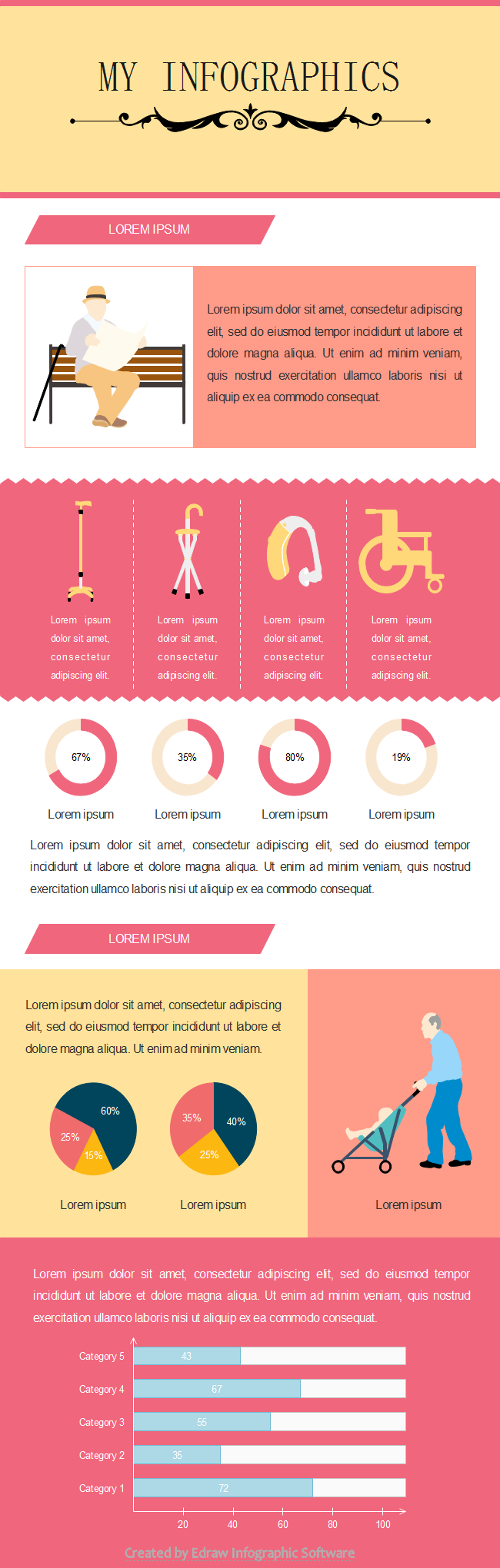 People Infographics Template2