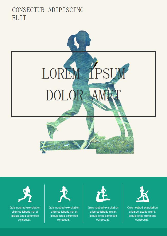 Free Running Flyer Template