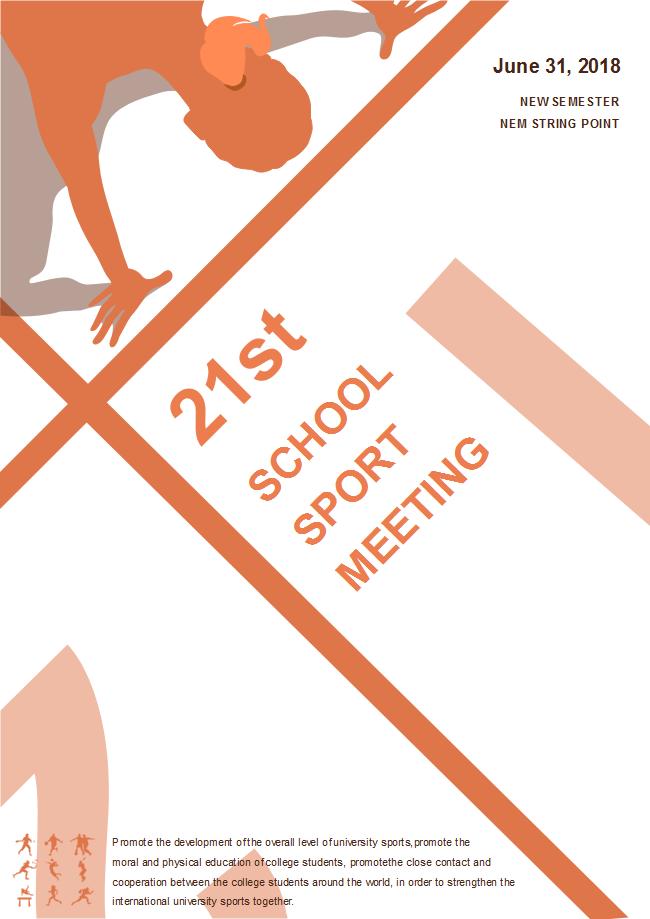 school sport meeting poster free school sport meeting poster templates