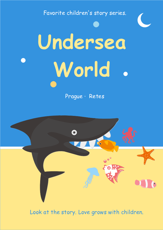 Seaworld Children Book Cover