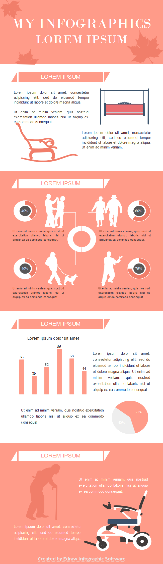 Senior Citizen Life Infographic