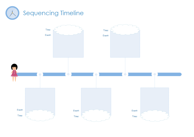 graphic about Printable Timelines known as No cost Timeline Templates - Basic in direction of Edit