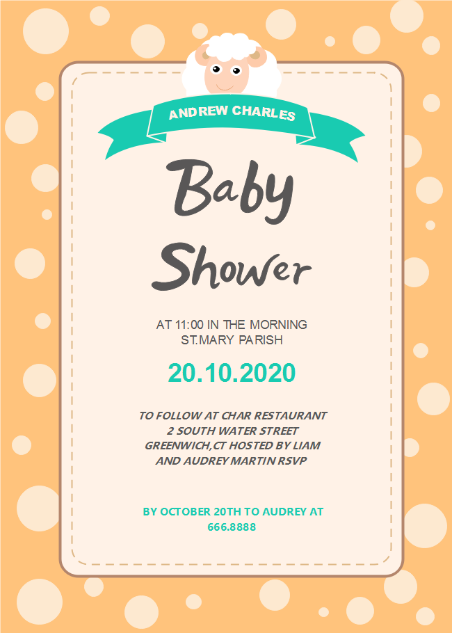 Sheep Baby Shower Invitation | Free Sheep Baby Shower Invitation ...