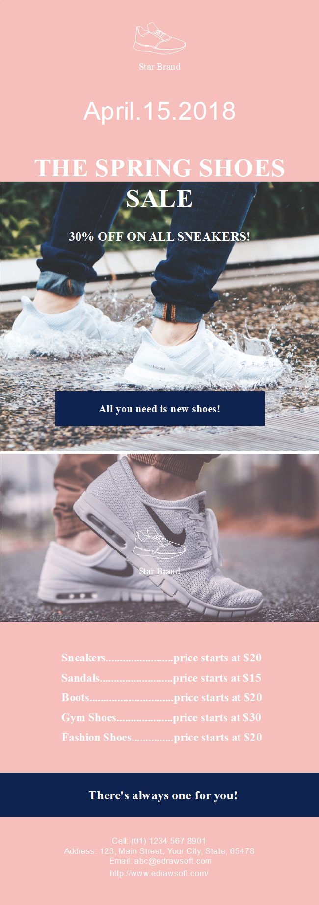 Shoes Sales Flyer