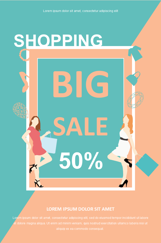 Shopping Discount Poster