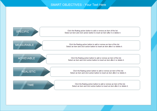 Smart Objectives Free Smart Objectives Templates