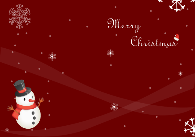Snowman christmas card free snowman christmas card templates snowman christmas card cheaphphosting Image collections