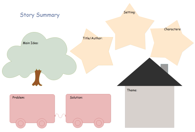 Story Summary Graphic Organizer