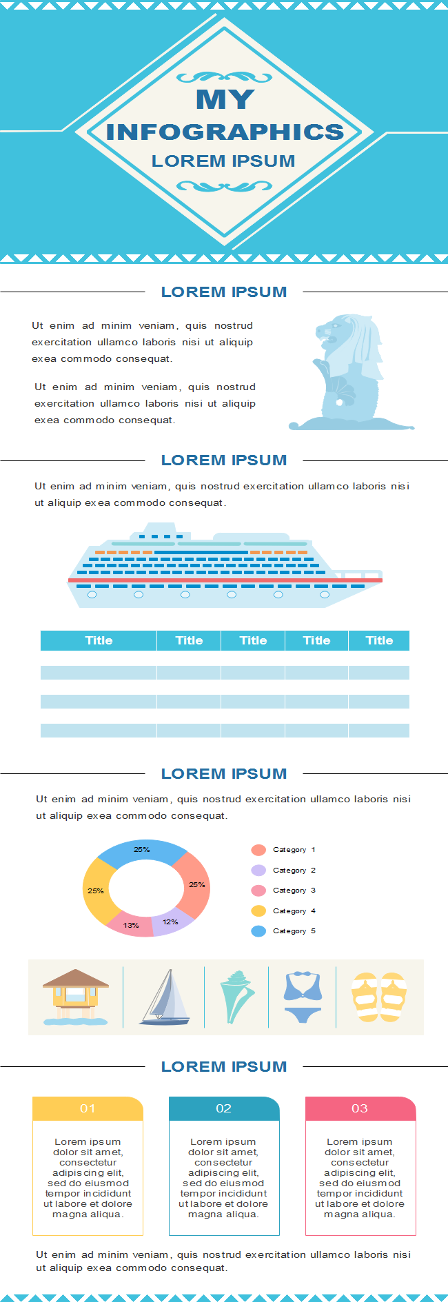 Summer Travel Infographic