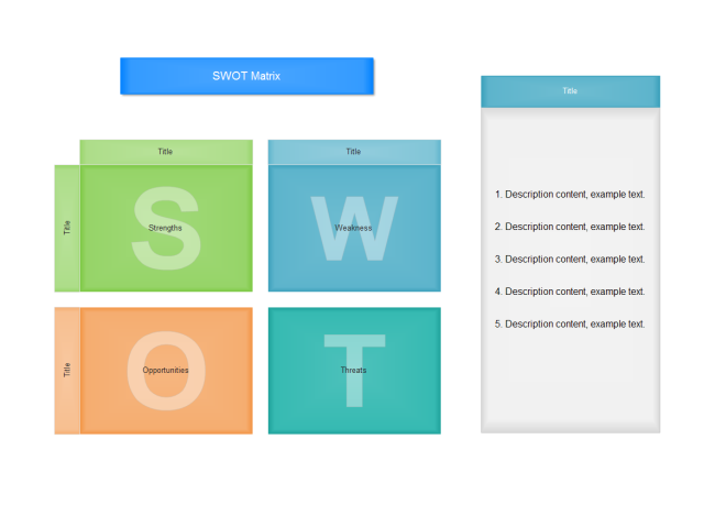 Free SWOT Templates for Word PPT and PDF – Blank Swot Analysis Template