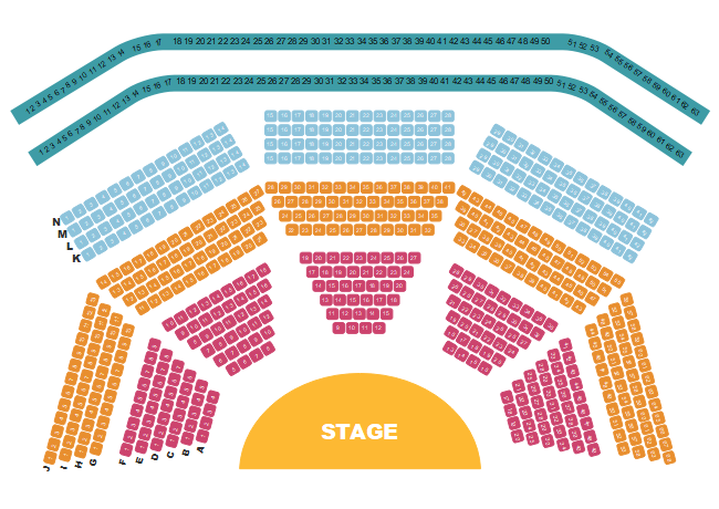 Theater Seat Layout Template