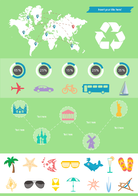 Tourism Survey Infographics Template