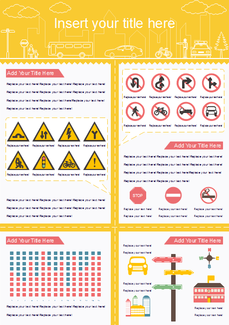 Traffic Rules Infographic