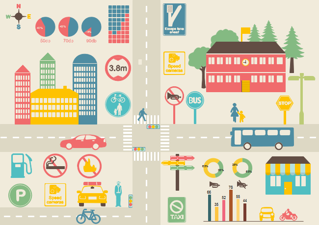 Transportation Infographic | Free Transportation Infographic Templates