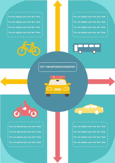 Transportation Report Infographics