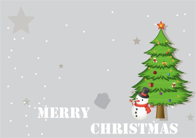Christmas Card Template.Tree Christmas Card Free Tree Christmas Card Templates