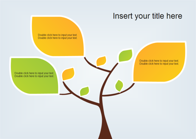 Nature theme ppt presentation templates tree leaves powerpoint toneelgroepblik Image collections