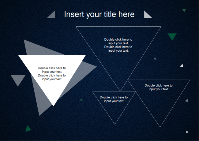 triangles powerpoint free triangles powerpoint templates