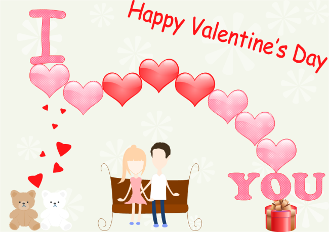 Valentine Day Card Free Valentine Day Card Templates