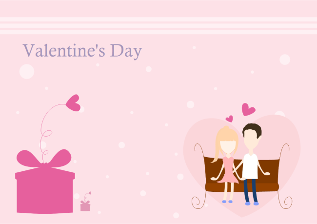 Valentine card examples and templates valentine greeting card m4hsunfo